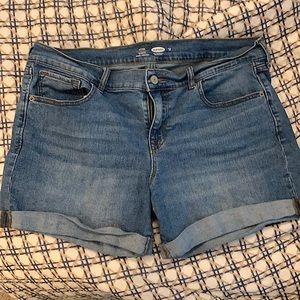 "Old Navy Jean Shorts 5"""